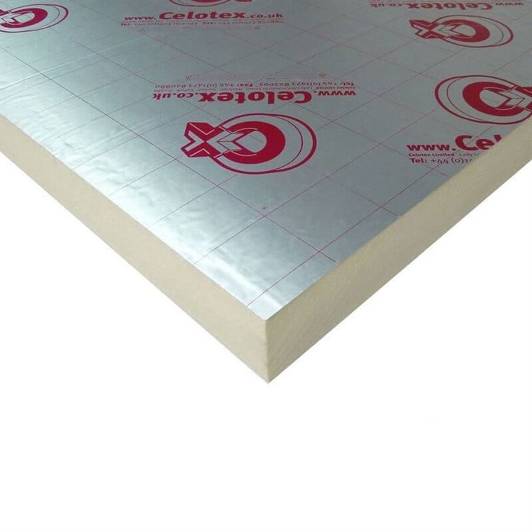 Celotex GA4000 - High Performance PIR Insulation Board for Floors, Walls and Roofs