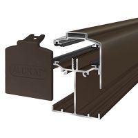 Alukap-SS - Low Profile Gable Bar - Brown