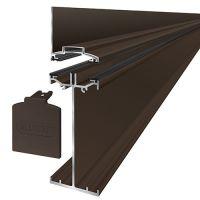 Alukap-SS - High Span Wall Bar - Brown