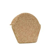Lightweight Tiles - Granulated Ridge End Cap - Barley Straw