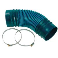 Corovent - 110mm Dia Flexi Tube with Clips