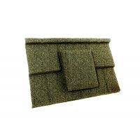 Britmet - Plaintile - Air Vent Tile - Moss Green