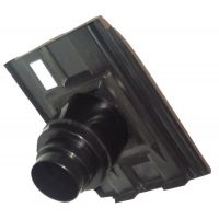 Corovent - Roofline Vent for Slate and Interlocking Tiles with 110mm Dia Pipe Adaptor