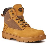 Rugged Terrain - Derby Safety Boots (S1P SRC) - Honey Nubuck