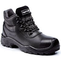 Rugged Terrain - Waterproof Hiker Safety Boots (S3 WRU HRO SRC) - Black Leather