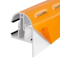 Snapa - Gable Bar with End Cap - White