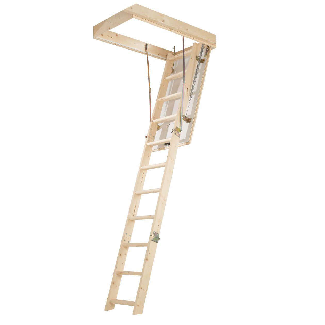 Youngman Timberline DIY Loft Access Kit - 12 Tread / 2.8m