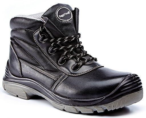 Rugged Terrain - Chukka Safety Boots (S3 SRC) - Black Microfibre
