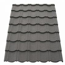 Corotile - Lightweight Metal Roofing Sheet - Charcoal (1140x860mm)