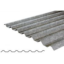 boxprofile,0.7mm,Juniper green zinc roofing Plastic coated roofing materials