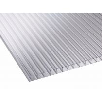 Corotherm 10mm - Twinwall Polycarbonate Sheet - Clear (3000x700x10mm)