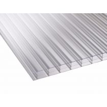 Corotherm 16mm - Triplewall Polycarbonate Sheet - Clear (2000x900x16mm)
