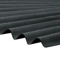 Corrapol-BT - Corrugated Bitumen Roof Sheet - Black (2000 x 930mm)