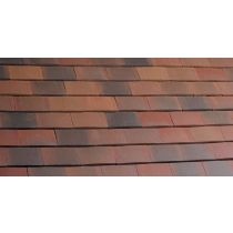 Marley Acme Double Camber Clay Plain Tiles (Pack of 12 Tiles)