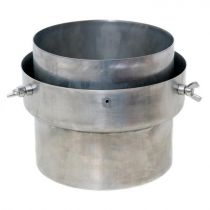 Flexiwall Chimney Liner Adapter - 125mm to 150mm