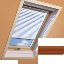Fakro - AJP II 155 - Standard Manual Venetian Blind - Chestnut Brown