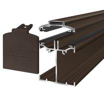 Alukap-SS - Low Profile Bar - Brown
