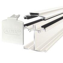 Alukap-SS - Low Profile Bar - White