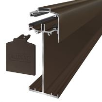 Alukap-SS - High Span Gable Bar - Brown