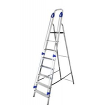 8 TREAD STEPLADDER WITH HANDRAILS