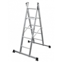 Werner 5 Way Aluminium Combination Ladder and Platform