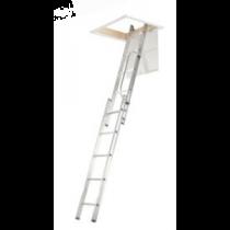 Abru 2.69m 2 Section Aluminium Loft Ladder