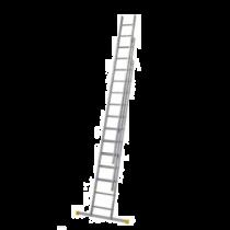 Werner Aluminium Triple Extension Ladder with Stabiliser Bar