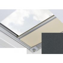 Fakro - ARF/D II 265 - Flat Roof Manual Blackout Blind - Anthracite
