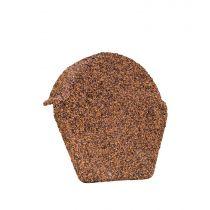 Lightweight Tiles - Granulated Ridge End Cap - Brown