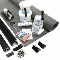 Classic Bond - EPDM Rubber Garage Roof Kit with Trims