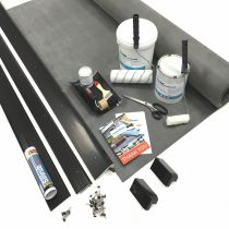 Classic Bond - EPDM Rubber Porch Roof Kit with Trims