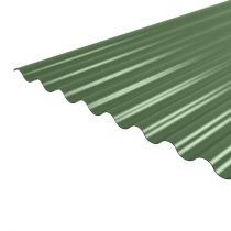 Steel Corrugated Roofing Sheet (14/3) - PVC Plastisol Coated - 0.5mm / 0.7mm