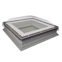 Fakro Flat Roof Window - Domed and Manually Opening - Laminated Double Glazing [DMC-C P2]