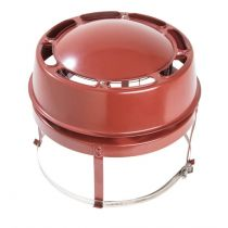 Econotop - Stainless Steel Chimney Cowl for Gas Fires - 150mm to 250mm