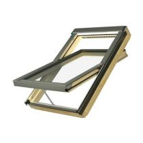 Fakro Centre Pivot Pitched Roof Window with Electric Opening