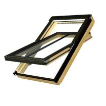 Fakro Centre Pivot Conservation Pitched Roof Window with Flashing Kit