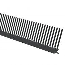 Manthorpe Eaves Comb Filler - 56 x 52 x 1000mm - Black (Pack of 50)
