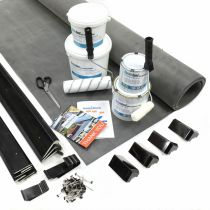 Classic Bond - EPDM Rubber Garden Building Roof Kit