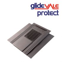 Glidevale In-Line Universal Soaker Slate Vent- 10,000mm2 - Blue/Black