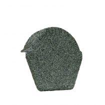 Lightweight Tiles - Granulated Ridge End Cap - Green