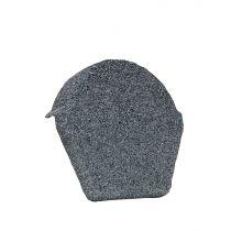 Lightweight Tiles - Granulated Ridge End Cap - Grey