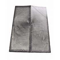 IKO Slate - Crown Ridge Tiles in Slate Grey (Pack of 20 - 3m Cover)