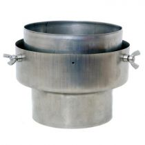Flexiwall Chimney Liner to Stove Pipe Adaptor - 125mm to 150mm
