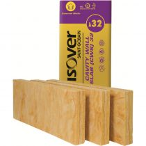 Isover CWS 32 - Glass Mineral Wool Cavity Wall insulation Slab
