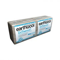 Knauf Insulation - Earthwool DriTherm Cavity Slab - 37 Standard (1200mm x 455mm x 75mm - 4.37m2)