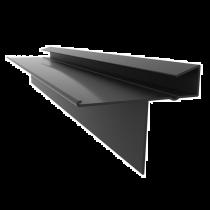 Britmet - Continuous Dry Verge - Type S - Black (1m)