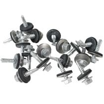 Metal Sheet to Zed Purlin TEK Screws (32mm - 175mm) - 100 Pack