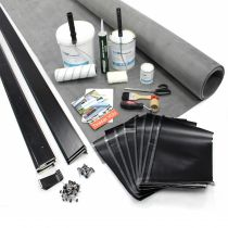 Classic Bond - EPDM Rubber Orangery Roof Kit with Trims