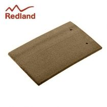 Redland Plain Eaves/Top Tile - Concrete Tile - Granular Cotswold