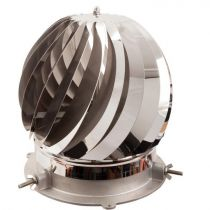 Colt Cowls Rotorvent Turbolite - Spinning Chimney Cowl - 80mm to 250mm
